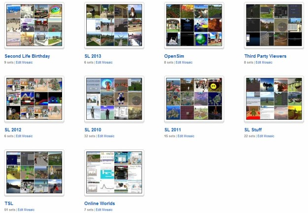 My SL Flickr collections