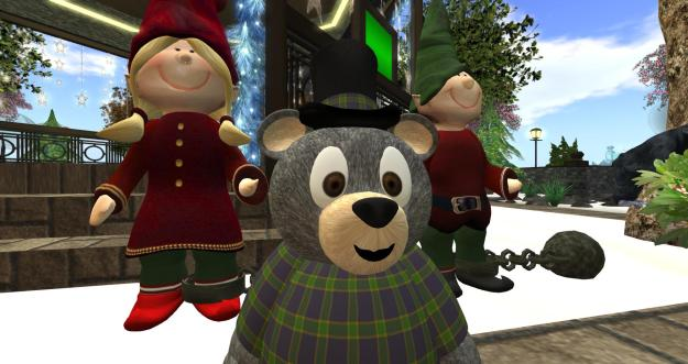 InWorldz christmas welcome area 2013